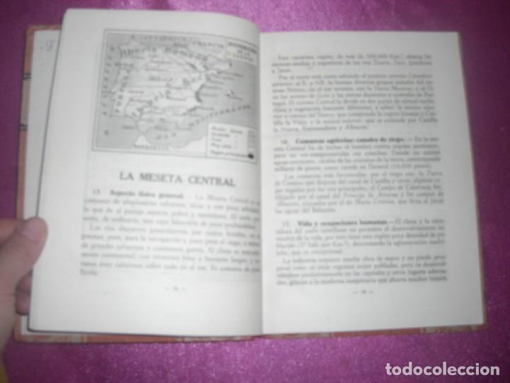 Libros antiguos: GEOGRAFIA SEGUNDO CURSO LUIS VIVES 1939 ILUSTRADO - Foto 7 - 109431467