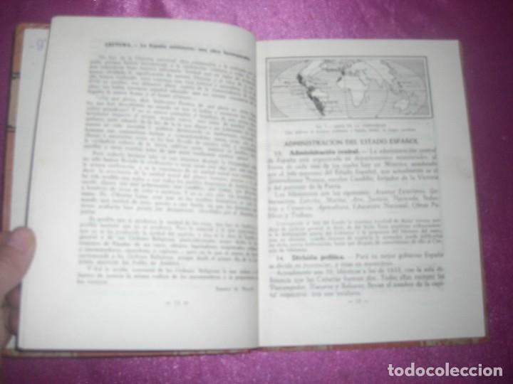 Libros antiguos: GEOGRAFIA SEGUNDO CURSO LUIS VIVES 1939 ILUSTRADO - Foto 8 - 109431467