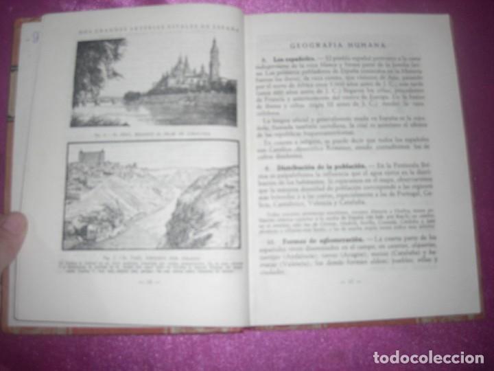 Libros antiguos: GEOGRAFIA SEGUNDO CURSO LUIS VIVES 1939 ILUSTRADO - Foto 9 - 109431467
