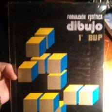 Libros antiguos: LIBRO DE TEXTO - FORMACION ESTETICA DIBUJO 1º DE BUP - EDELVIVES - BARNECHEA REQUENA - 1983. Lote 109820203