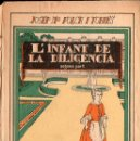 Libros antiguos: JOSEP Mª FOLCH I TORRES : L'INFANT DE LA DILIGENCIA II (BAGUÑÁ, 1923) ILUSTRADO X PRAT. Lote 110102331