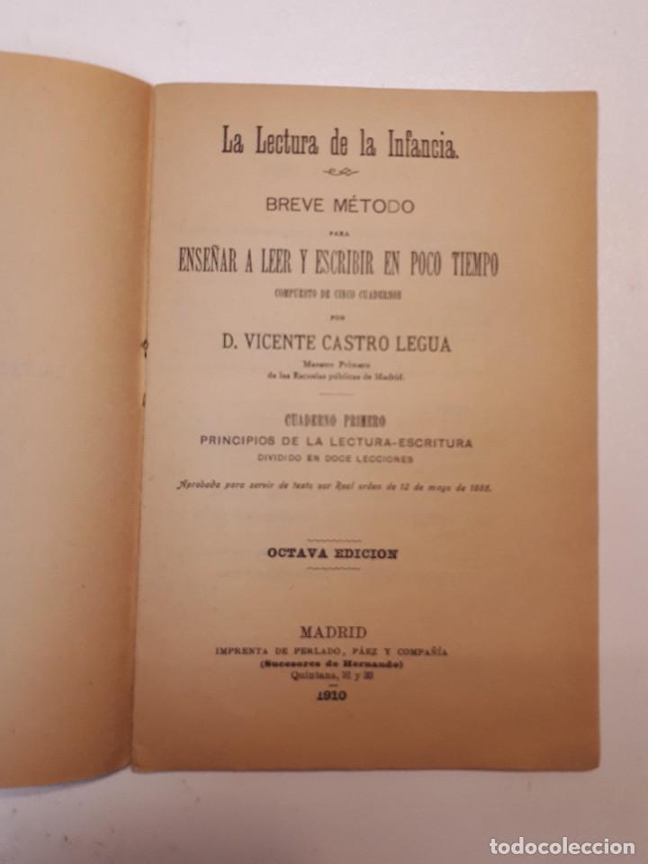 Libros antiguos: la lectura de la infancia 1910 - Foto 3 - 110382507