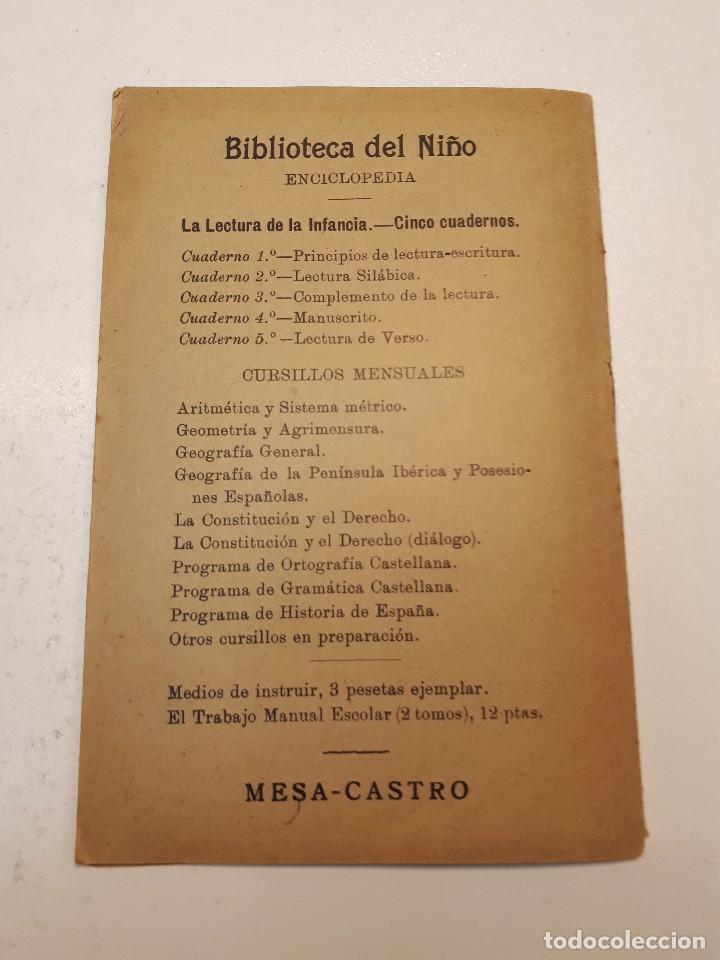 Libros antiguos: la lectura de la infancia 1910 - Foto 11 - 110382507