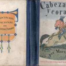 Libros antiguos: MARTÍ ALPERA : CABEZA Y CORAZÓN HERNANDO, 1925). Lote 110616115