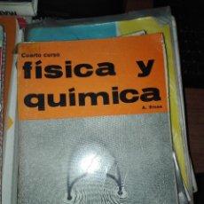 Libros antiguos: FISICA Y QUIMICA 1957 H Y D . Lote 110912767