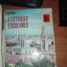 Libros antiguos: LECTURAS ESCOLARES MIÑON 5. Lote 110914343