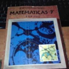 Libros antiguos: MATEMATICAS ED ANAYA EGB. Lote 110921115