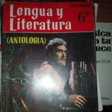 Libros antiguos: LENGUA Y LITERATURA 6 1967. Lote 110923311