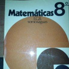 Libros antiguos: MATEMATICAS 8 EGB NARCEA ED 1974. Lote 110923387