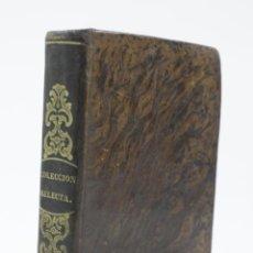 Libros antiguos: COLECCIÓN SELECTA DE MORAL Y ELOCUENCIA, ESCUELAS PRIMARIAS, 1843, BARCELONA. 11X15,5CM. Lote 111228359