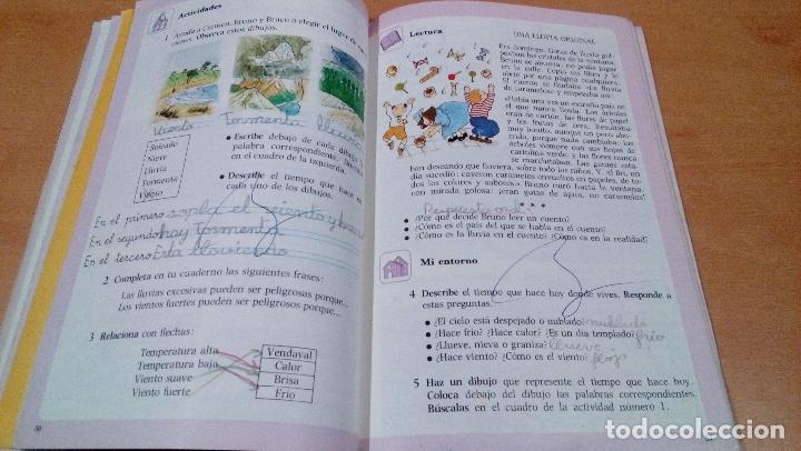 Libros antiguos: nuestra experiencia - 2 egb - anaya - aula 3 - pintado - plastificado - buen estado - ver fotos - Foto 4 - 111468323