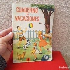 Livres anciens: ANTIGUO LIBRO DE TEXTO O ESCUELA CARTILLA SM EDICIONES CUADERNO Nº 5 ELEMENTAL O TERCER CURSO. Lote 111635687