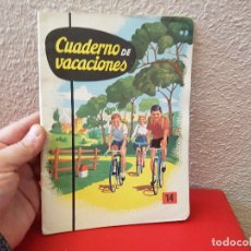 Livres anciens: ANTIGUO LIBRO DE TEXTO O ESCUELA CARTILLA SM EDICIONES CUADERNO Nº 14 BACHILLER 1963 CURSO. Lote 111635887