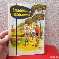 Livres anciens: ANTIGUO LIBRO DE TEXTO O ESCUELA CARTILLA SM EDICIONES CUADERNO Nº 13 BACHILLER 1963 CURSO. Lote 111635963