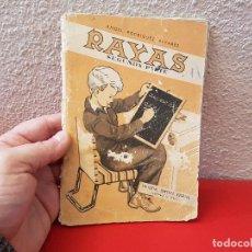 Livros antigos: ANTIGUO LIBRO DE TEXTO O ESCUELA CARTILLA RAYAS SEGUNDA PARTE CUADERNO 1961ENSEÑANZA PRIMARIA . Lote 111636171