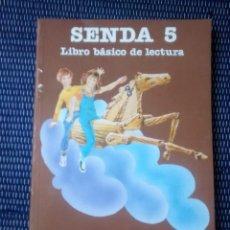 Libros antiguos: LIBRO SENDA 5 EGB SANTILLANA. Lote 133151107