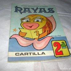 Libros antiguos: CARTILLA RAYAS, CARTILLA SEGUNDA EN COLOR AÑOS 70. Lote 112830199