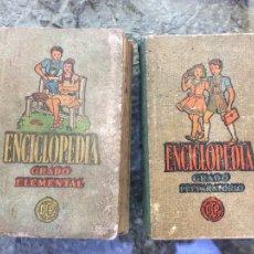 Livres anciens: ENCICLOPEDIA GRADO ELEMENTAL Y GRADO PREPARATORIO.. Lote 112878730