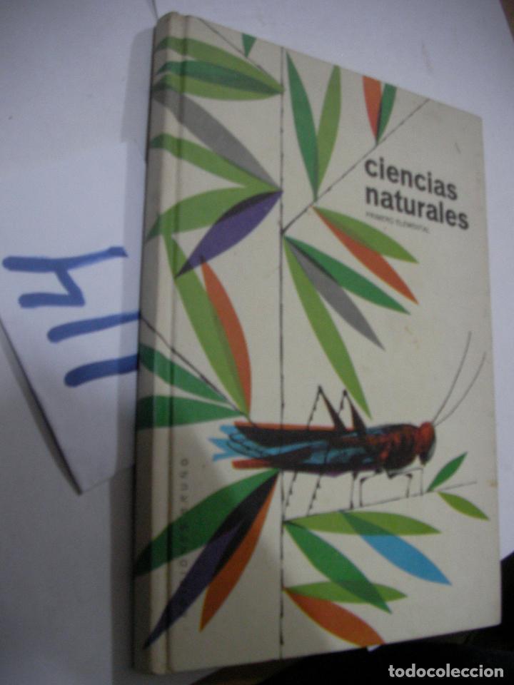 ANTIGUO LIBRO TEXTO - CIENCIAS NATURALES (Libros Antiguos, Raros y Curiosos - Libros de Texto y Escuela)