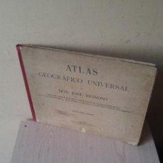 Libros antiguos: DON JOSE REINOSO - ATLAS GEOGRAFICO UNIVERSAL - SEGUNDA EDICION, REFORMADA . Lote 113738803