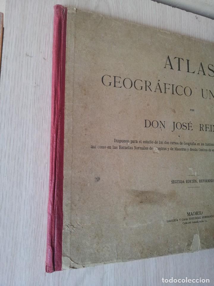 Libros antiguos: DON JOSE REINOSO - ATLAS GEOGRAFICO UNIVERSAL - SEGUNDA EDICION, REFORMADA - Foto 3 - 113738803