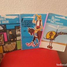 Libros antiguos: LOTE ANTIGUO LIBRO DE TEXTO O ESCUELA ANAYA LECTURA INFANTIL EL MUNDO LAS PALABRAS NATURALEZA SOCIAL. Lote 113999891