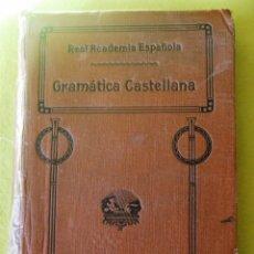 Libros antiguos: GRAMATICA DE LA LENGUA CASTELLANA_ REAL ACADEMIA ESPAÑOLA (1920). Lote 114139099