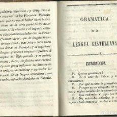 Libros antiguos: GRAMÁTICA DE LA LENGUA CASTELLANA, JOSE PABLO BALLOT, BARCELONA C.1794. Lote 114491371