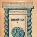 Libros antiguos: GRAMÁTICA SEGUNDO GRADO (SEIX BARRAL, 1935). Lote 115350351