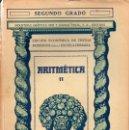 Libros antiguos: ARITMÉTICA SEGUNDO GRADO (SEIX BARRAL, 1935). Lote 115350387