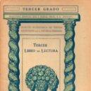 Libros antiguos: LIBRO DE LECTURA TERCER GRADO (SEIX BARRAL, 1935). Lote 115350483