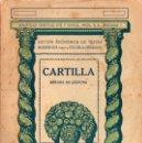 Libros antiguos: CARTILLA MÉTODO DE LECTURA (SEIX BARRAL, 1936). Lote 115350619