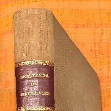 Libros antiguos: RESISTENCIA DE MATERIALES-ETSAM-LCV(20€). Lote 115416695