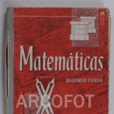 Libros antiguos: ZARAGOZA 1964 - MATEMÁTICAS 2º CURSO - EDELVIVES - LUIS VIVES. Lote 115464135