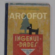 Libros antiguos: 1949 - INGENUIDADES - PRIMER LIBRO DE LECTURA CORRIENTE - EDITORIAL MIGUEL A. SALVATELLA. Lote 116524483