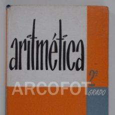 Libros antiguos: 1962 - ARITMÉTICA - CURSO MEDIO - EDICIONES BRUÑO. Lote 116524635