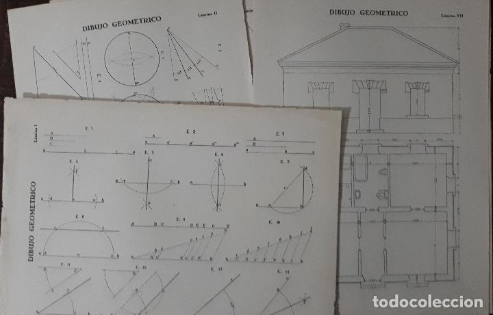 Libros antiguos: ELEMENTOS DE DIBUJO GEOMÉTRICO FRANCISCO PÉREZ LOZAO 1937 ZAMORA TEXTO+LAMINAS - Foto 3 - 116648763