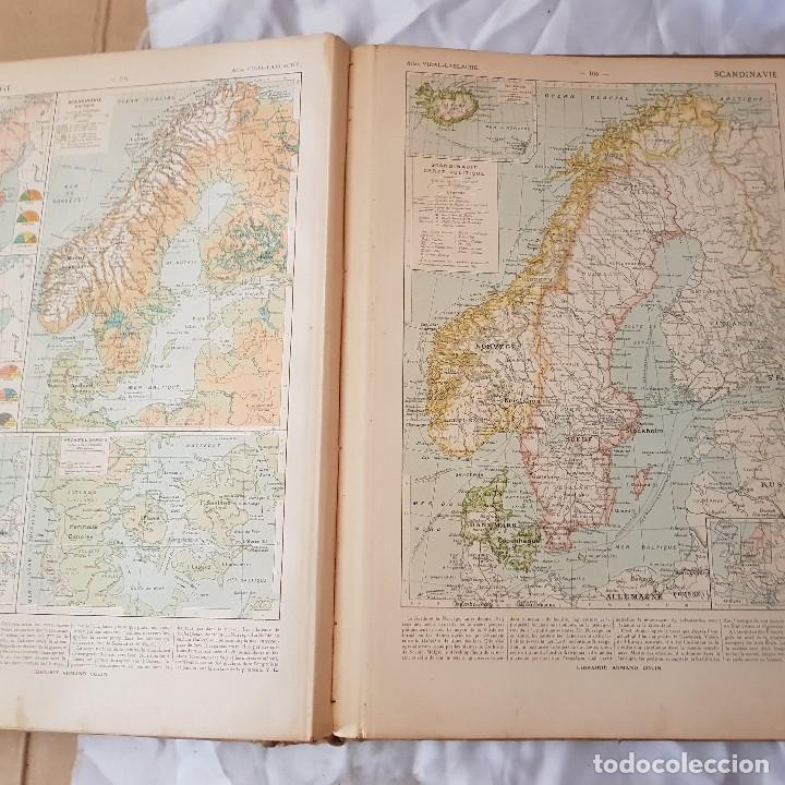 Libros antiguos: ATLAS GENERAL VIDAL LABLACHE 1904 - Foto 6 - 116722967
