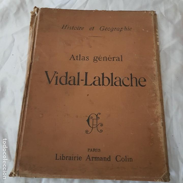 ATLAS GENERAL VIDAL LABLACHE 1904 (Libros Antiguos, Raros y Curiosos - Libros de Texto y Escuela)