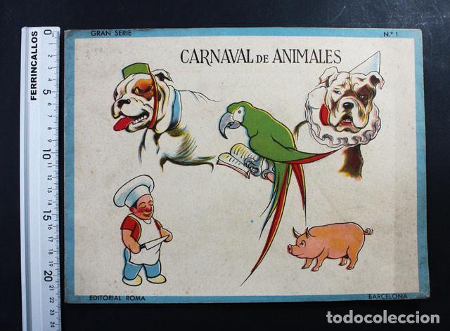 carnaval de animales cuaderno nº 1, editorial r - Comprar Libros ...