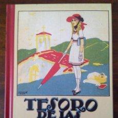 Libros antiguos: TESORO DE LAS ESCUELAS. SATURNINO CALLEJA. FACSIMIL.. Lote 117482031