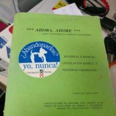 Libros antiguos: LIBRO RARO AHORA, AHORE PARA FUNCIONAR EN CORREOS Y TELEGRAFOS. Lote 117519371