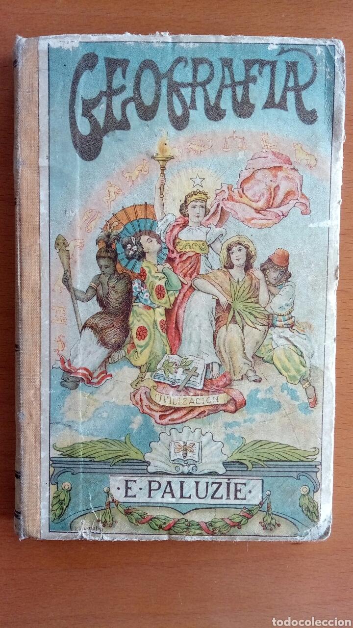 GEOGRAFÍA PARA NIÑOS. (Libros Antiguos, Raros y Curiosos - Libros de Texto y Escuela)