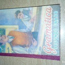 Libros antiguos: GRAMATICA. SEGUNDO GRADO. EDITORIAL LUIS VIVES. Lote 120957527