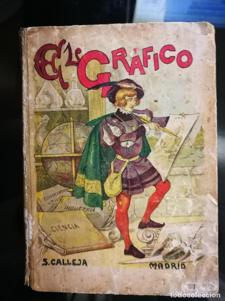 LIBRITO ESCOLAR- EL GRÁFICO- SATURNINO CALLEJA- AÑO 1876 (Libros Antiguos, Raros y Curiosos - Libros de Texto y Escuela)