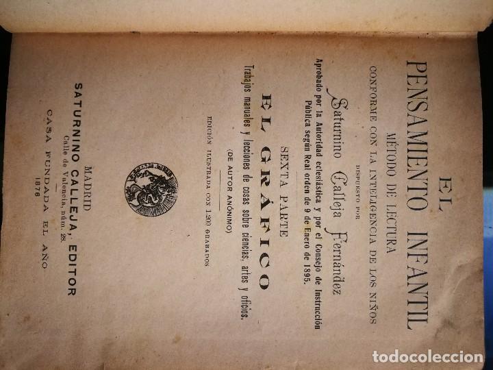 Libros antiguos: Librito escolar- El Gráfico- Saturnino Calleja- año 1876 - Foto 4 - 121069039