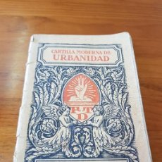 Alte Bücher - LIBRO ESCOLAR CARTILLA MODERNA DE URBANIDAD EDITORIAL FTD BARCELONA 1928 - 121168275