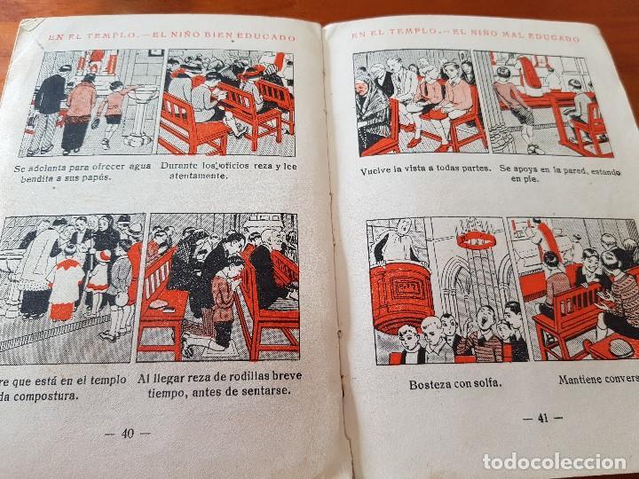 Libros antiguos: LIBRO ESCOLAR CARTILLA MODERNA DE URBANIDAD EDITORIAL FTD BARCELONA 1928 - Foto 3 - 121168275