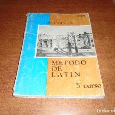 Libros antiguos: LIBRO DE TEXTO: LATÍN 5º CURSO (SEGURA MUNGÍA) ANAYA 1973. Lote 121738311