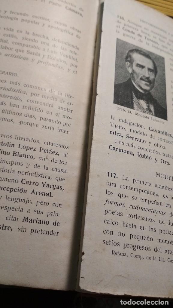 Libros antiguos: COMPENDIO HISTORICO CRITICO DE LA LITERATURA CASTELLANA. HERDER Y CIA LIBREROS FRIBURGO, AÑOS 20 - Foto 5 - 122318083